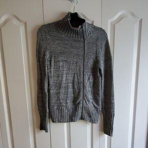 Victoria's Secret Asymmetrical Grey Sweater Medium